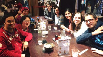 When Caty (2nd from right) visited Melbourne - August 2016. Photo from Tseen Khoo.