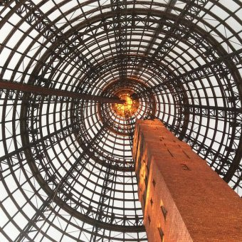 Iconic Melbourne Central Shot Tower. Photo by Tseen Khoo.