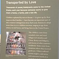 Display panel at Ellis Island