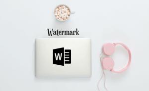 cara menghilangkan watermark di word 2013