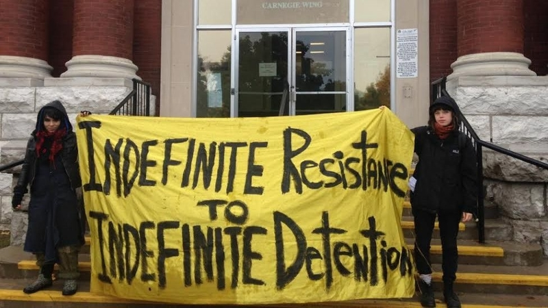 Hunger Strikes at Two Immigrant Detention Centers in Ontario