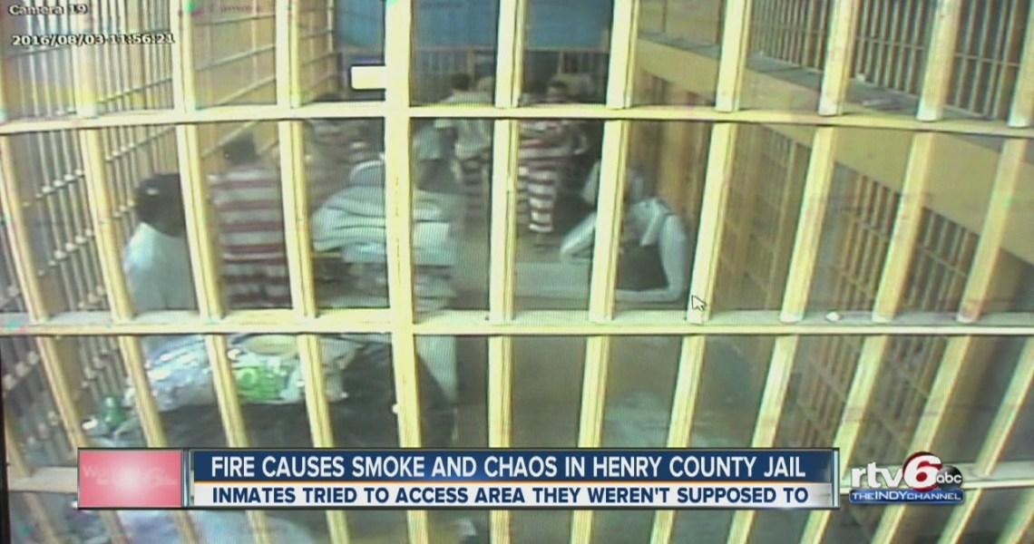Uprising at Henry County Jail, Indiana