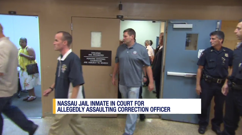 Attack on Guards at Nassau County Correctional Center, New York