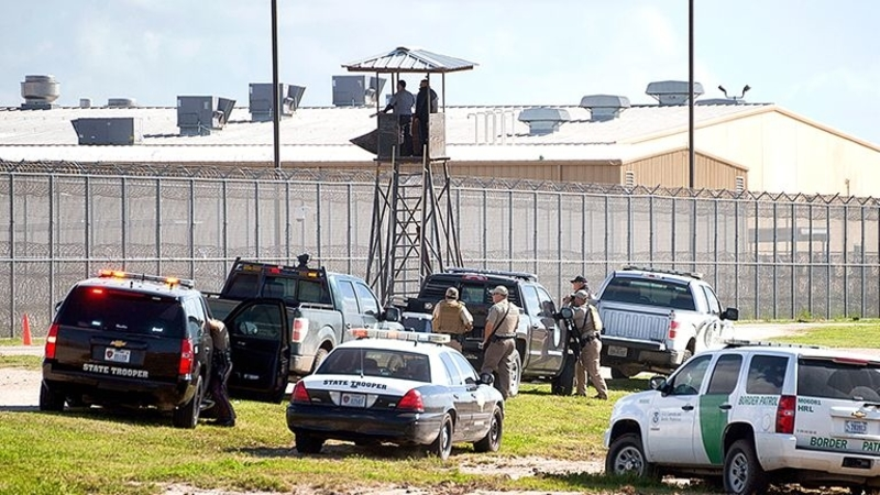 Uprising at Kinney County Detention Center, Texas