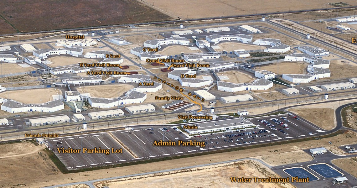 Uprising at Kern Valley State Prison, California