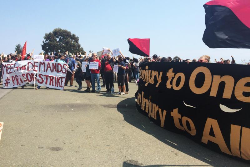 2018 National Prison Strike: California
