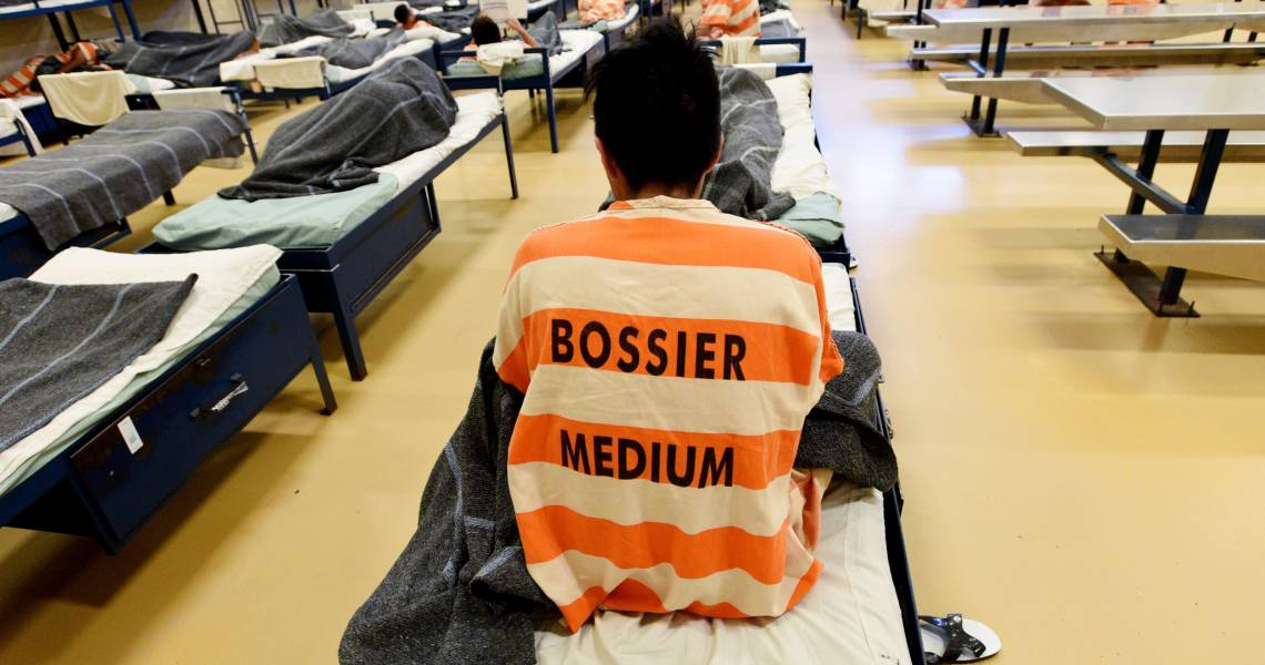 Hunger Strike and Protest at Bossier Medium Security Facility, Louisiana