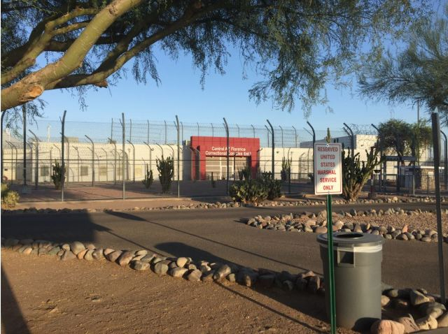 The Central Arizona Florence Correctional Complex in Florence, Arizona