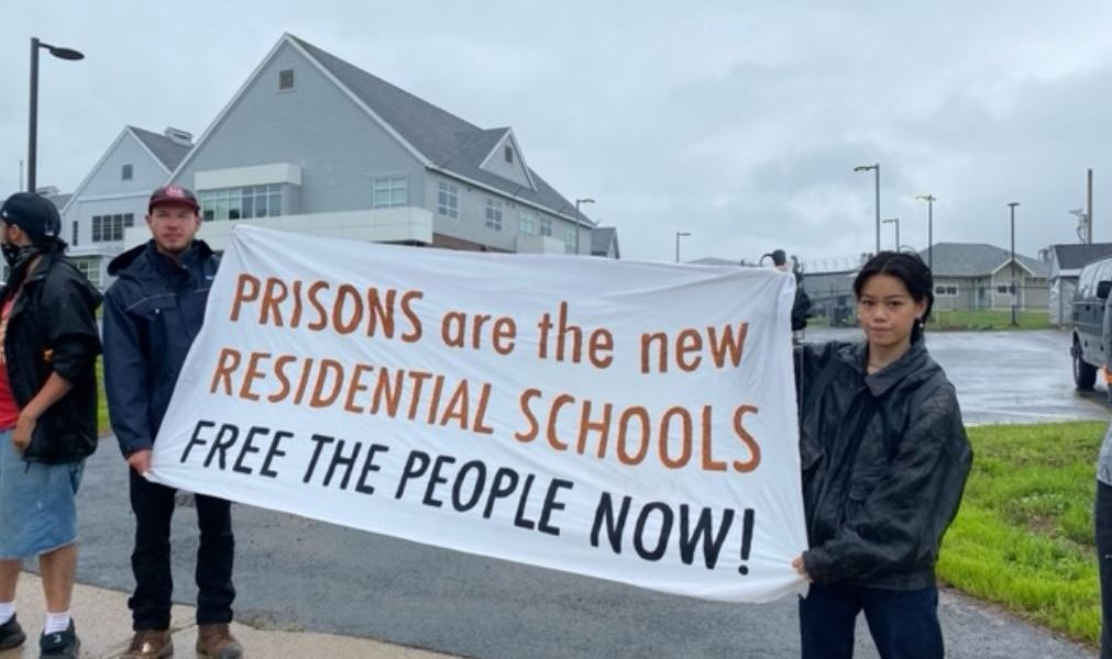 """Prisoners Stand Against Racism and Colonialism in Canada's """"New Residential Schools"""""""