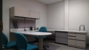 Furnished interior office space in Nashville
