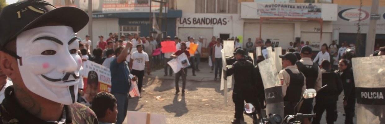Protesta ciudadana contra la Marina