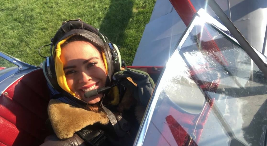 Valery Danko tiger moth plane flying