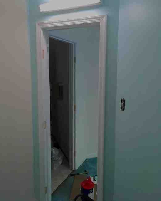 entrance to closet