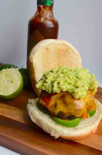 Spicy Southwest Turkey Burgers