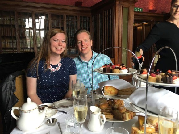 afternoon tea with bottomless bubbles
