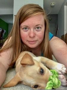 Selfie of Casey & Gimli
