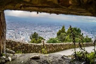 Bogota city views