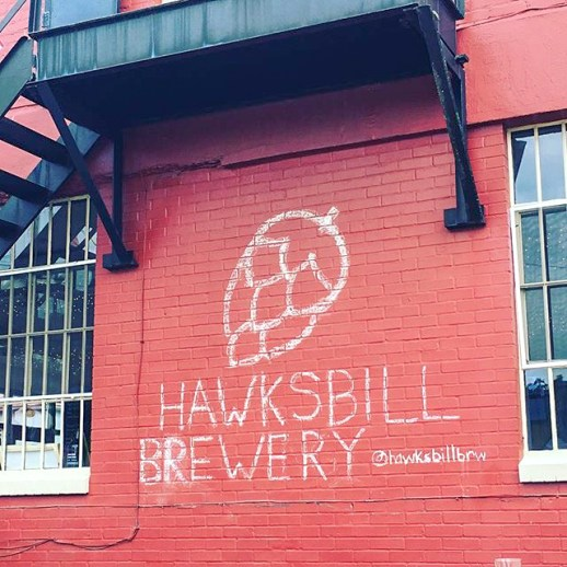 Hawksbill Brewery's logo