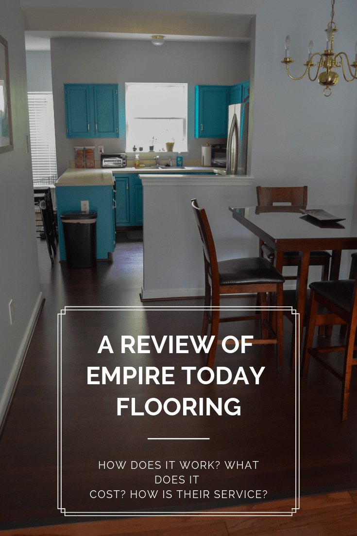 You've seen the commercials, but what is it like to work with Empire Flooring? This review of Empire Today covers consultations, costs, and installation of carpet and laminate flooring. #newcarpet #laminateflooring