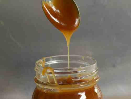 An easy peanut butter sauce.