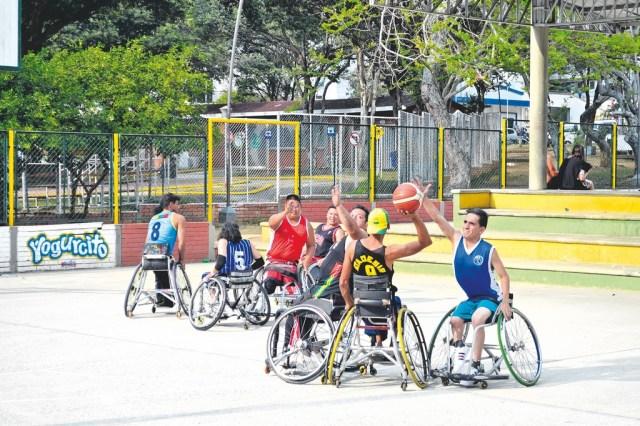 Actualmente los deportistas inician su preparación para el clasificatorio para los Juego Paranacionales Bolívar 2019. /FOTO SEBASTIÁN LESMES PATIÑO