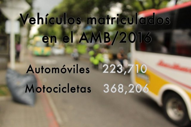En comparación con 2008, el número de vehículos matriculados en el AMB fue de 130,549 y de motocicletas 132,990. FOTO/ PABLO FUERMAN.