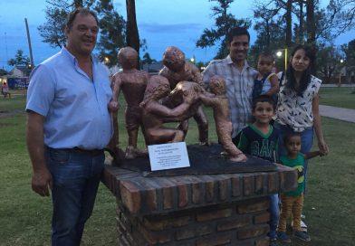 Homenaje por el Día del Voluntario Anónimo en Villa Minetti al cumplirse un año de la gran inundación
