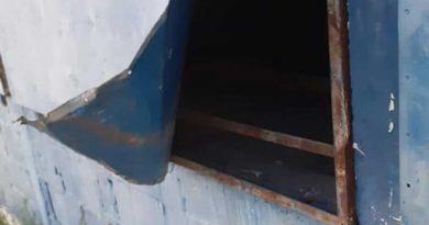 Vandalismo y robo en el club Sportivo Villa Minetti