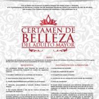 Ya viene...Certamen de Belleza del Adulto Mayor, organiza DIF Municipal Zacatecas