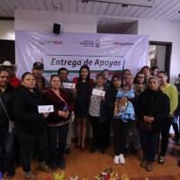 Reciben guadalupenses Calentadores solares de parte de Isadora Santiváñez