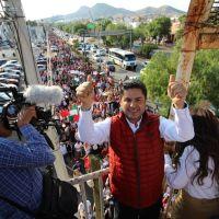 Miles van con Enrique Guadalupe... X la Reelección