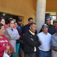 Trabajadores del SUTSEMOP paran Labores en Presidencia de Trancoso