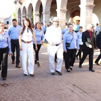 En Villanueva desfile de Independencia y Develan fotografías de candidatas a reina de Feria 2019