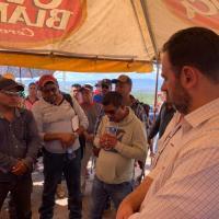 """Tello """"se la rifa"""" ante Federación para solucionar conflicto entre Peñasquito y Ejidatarios"""