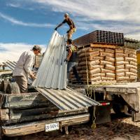 Más de 7 mil pobladores de 5 Municipios mejoran sus Viviendas