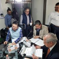 Preside Coordinador Nacional de Ganadería, DM, sesión de Consejo de Administración de Liconsa