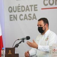 Gobernador anuncia lineamientos para arrancar Nueva Realidad en Zacatecas