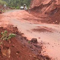 Daños en vías provocadas por lluvias son atendidas