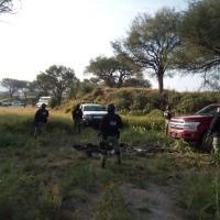 Guardia Nacional captura a 4, aseguran 5 armas, un vehículo y Droga