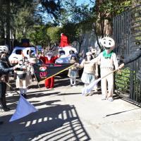 Alcalde villanovense da banderazo de arranque al Carnaval Navideño Villanueva 2020