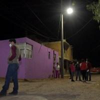 Ayuntamiento de Guadalupe entrega red eléctrica en Ojo de Agua de la Palma