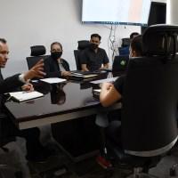 Alcalde guadalupense preside reunión de la Comisión de Entrega