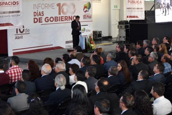 Rindió el Alcalde informe sobre los primeros cien días de su gobierno