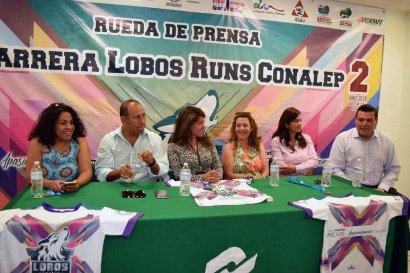 """Anuncian la carrera atlética """"Lobos Runs"""" del CONALEP"""