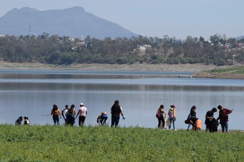 Realizaron una Jornada de Limpieza en los alrededores del lago de Guadalupe