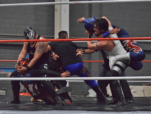 La lucha libre sigue ganando adeptos en Cuautitlán Izcalli