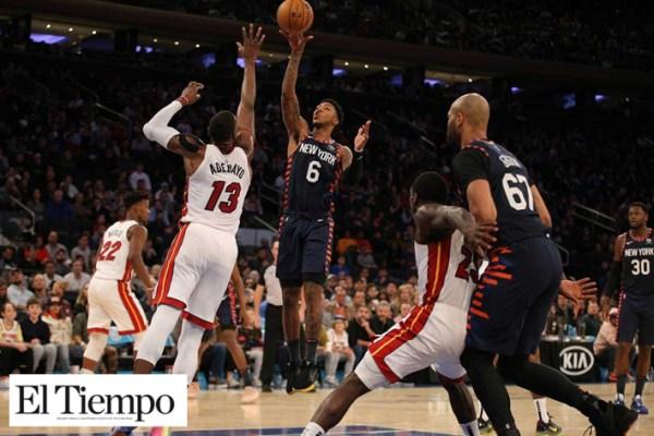Knicks sorprende y gana