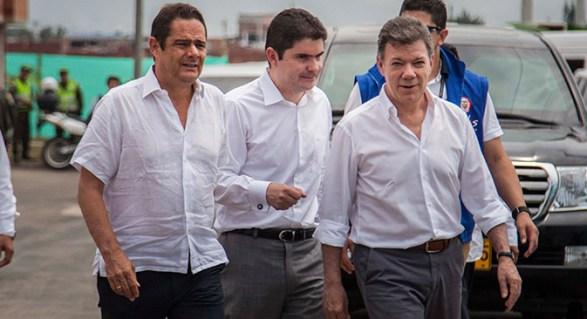 Presidente Santos exalta labor de Vargas Lleras y nombra como nuevo Ministro a Luis Felipe Henao Cardona