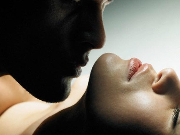Man Kissing a Woman --- Image by © Hans Neleman/zefa/Corbis