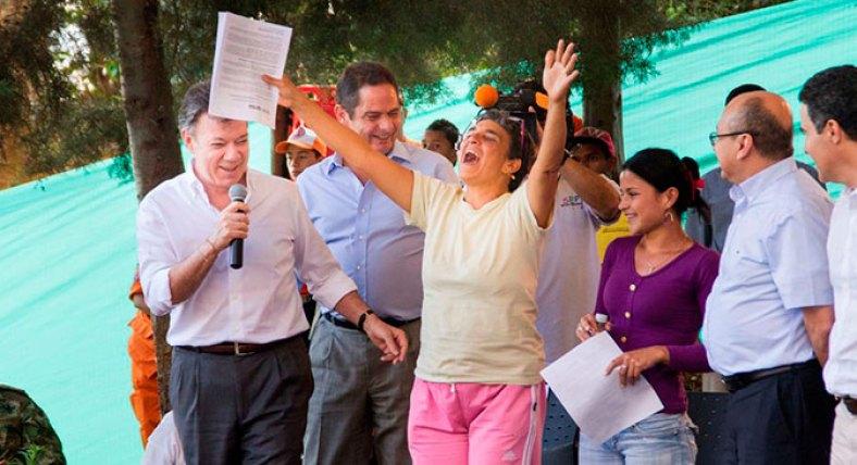 Gobierno Nacional ya entregó 455 casas gratis a familias pobres